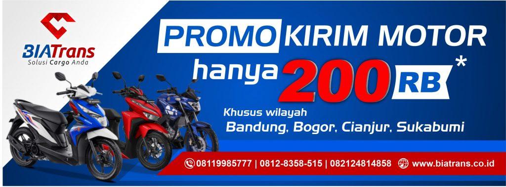 promo pengiriman motor