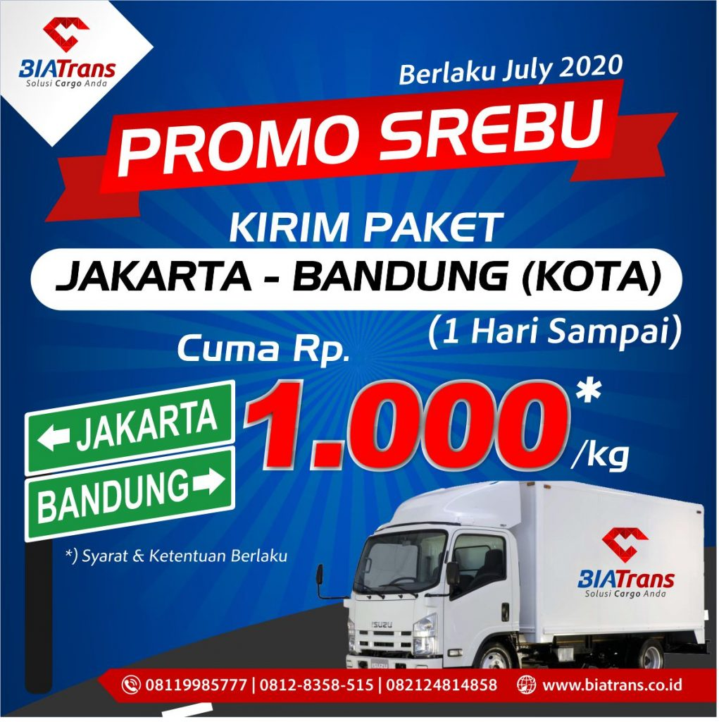 promo Kirim Barang Jakarta Bandung